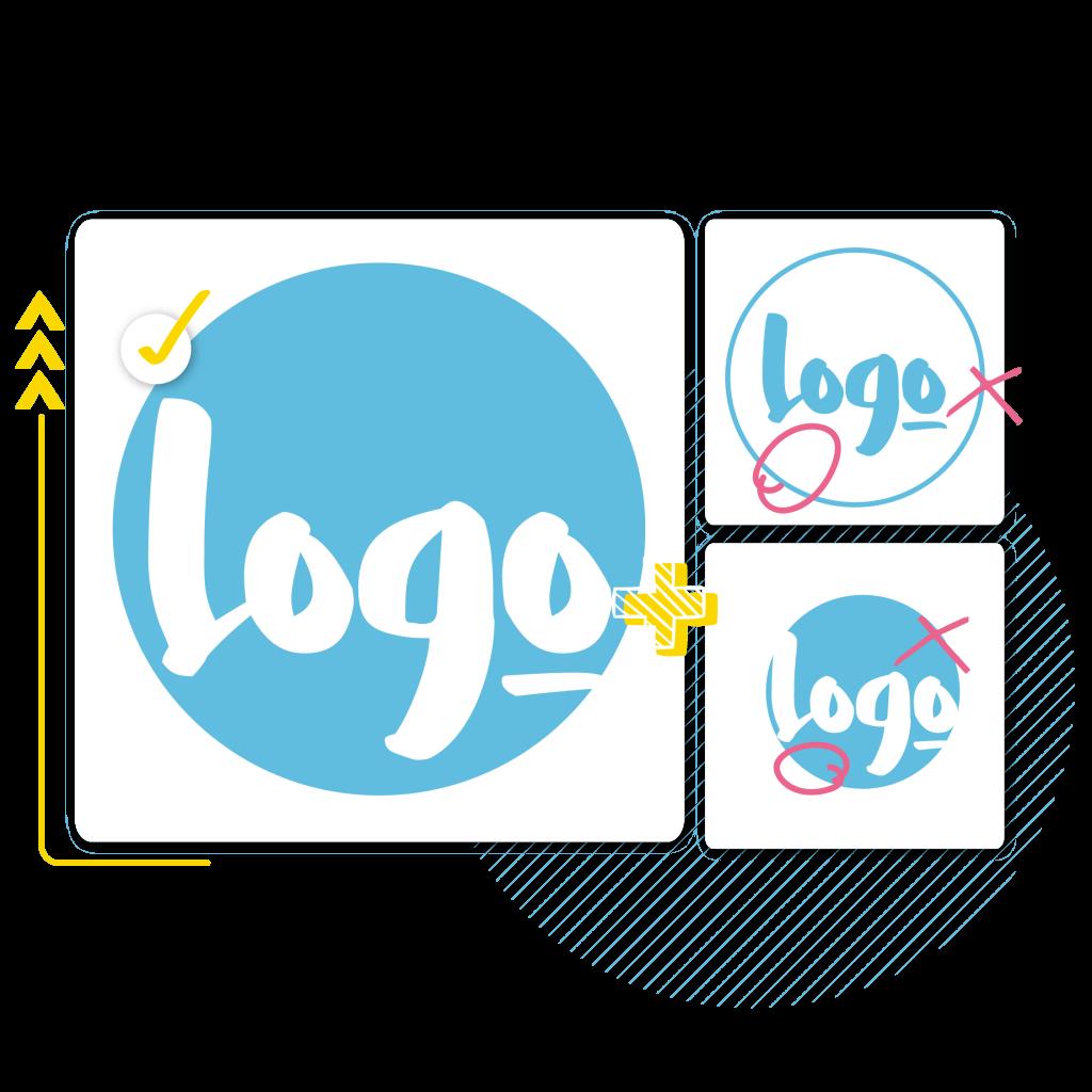 4hundred logo design banner